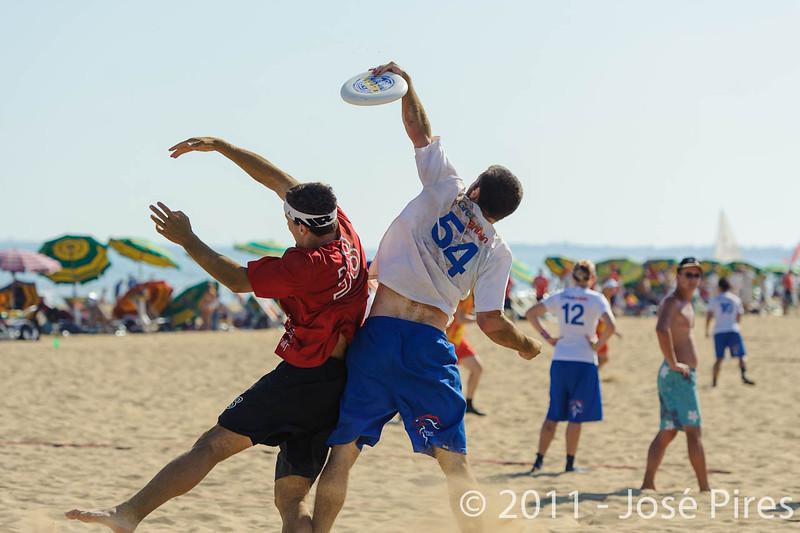 WCBU2011, Lignano Sabbiadoro, Italy.<br /> Switzerland vs Great Britain. Open Division<br /> PhotoID : 2011-08-24-0249