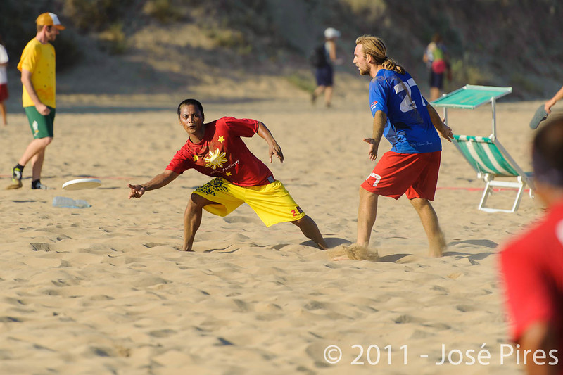 WCBU2011, Lignano Sabbiadoro, Italy.<br /> France vs Philippines. Open Division<br /> PhotoID : 2011-08-25-0740