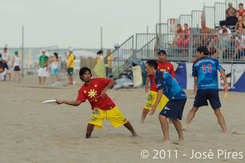 WCBU2011, Lignano Sabbiadoro, Italy.<br /> Open Division Final. Philippines vs USA<br /> PhotoID : 2011-08-27-1652