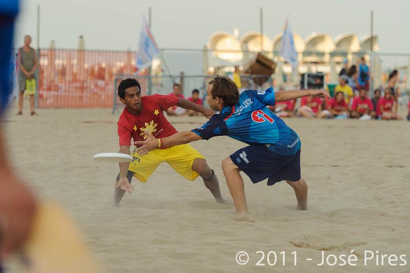 WCBU2011, Lignano Sabbiadoro, Italy.<br /> Open Division Final. Philippines vs USA<br /> PhotoID : 2011-08-27-1691