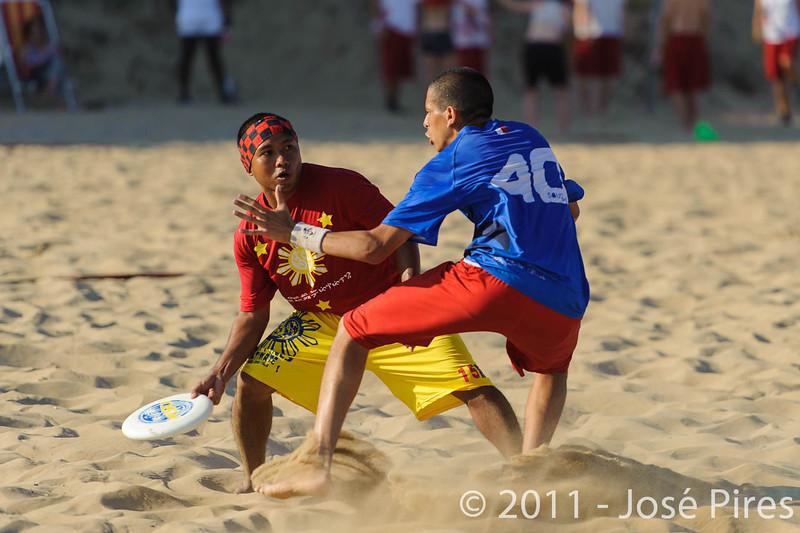 WCBU2011, Lignano Sabbiadoro, Italy.<br /> France vs Philippines. Open Division<br /> PhotoID : 2011-08-25-0745
