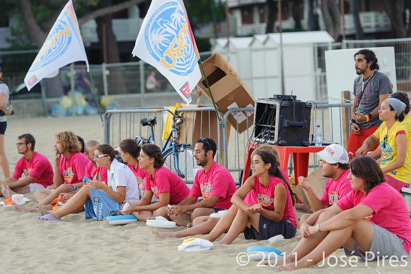 WCBU2011, Lignano Sabbiadoro, Italy.<br /> Sidelines.<br /> PhotoID : 2011-08-27-1769