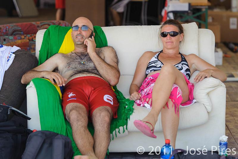 WCBU2011, Lignano Sabbiadoro, Italy.<br /> Sidelines.<br /> PhotoID : 2011-08-23-0236