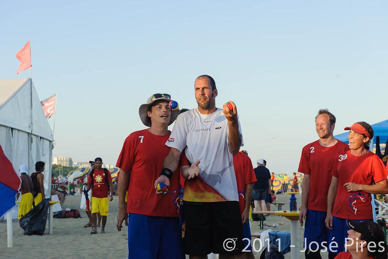 WCBU2011, Lignano Sabbiadoro, Italy.<br /> Sidelines.<br /> PhotoID : 2011-08-25-0981