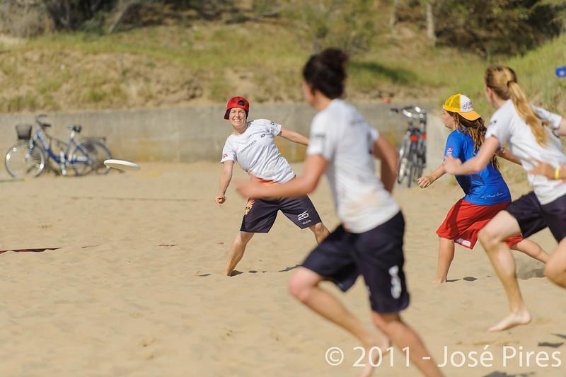 WCBU2011, Lignano Sabbiadoro, Italy.<br /> France  vs Germany. Women Division.<br /> PhotoID : 2011-08-23-0018