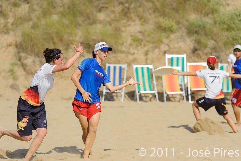 WCBU2011, Lignano Sabbiadoro, Italy.<br /> France  vs Germany. Women Division.<br /> PhotoID : 2011-08-23-0136