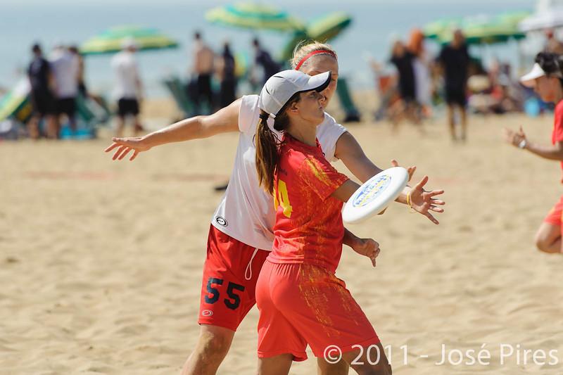 WCBU2011, Lignano Sabbiadoro, Italy.<br /> Spain vs Canada. Women Division<br /> PhotoID : 2011-08-23-0155