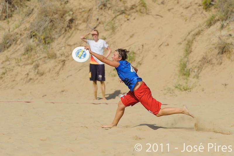 WCBU2011, Lignano Sabbiadoro, Italy.<br /> France  vs Germany. Women Division.<br /> PhotoID : 2011-08-23-0112