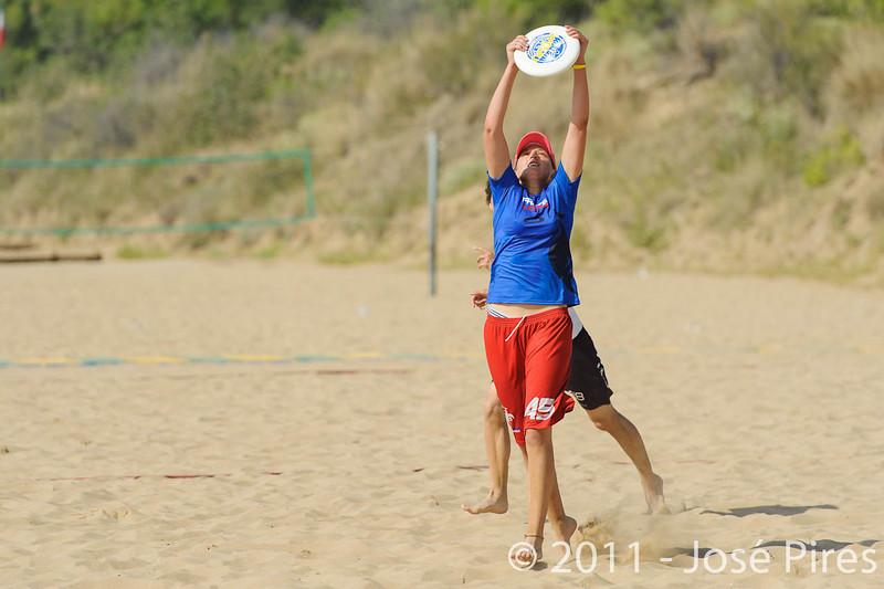 WCBU2011, Lignano Sabbiadoro, Italy.<br /> France  vs Germany. Women Division.<br /> PhotoID : 2011-08-23-0118