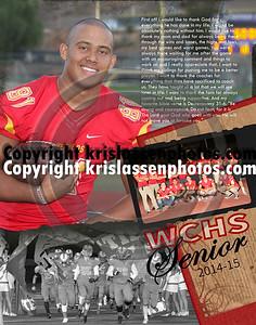 WCHS Football Seniors