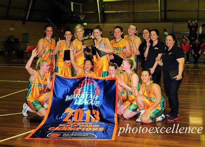 Sydney City Comets YL Women - Premiers 2013 BNSW