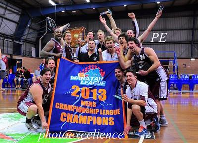 Manly Warringah Sea Eagles WCL Men's Premiers 2013 MD