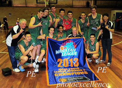 Hornsby Spiders YL Div 2 Men - Premiers 2013 HA