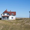 Race Point Light and Lighthouse Keepers house.