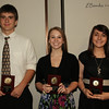 Ligonier Valley Students Benjamin Ellis, Hannah Gilmore and Shannon Tantlinger
