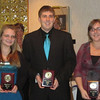 Mt Pleasant awardees Emilie Hrabak, David Remaley and Emily Yothers