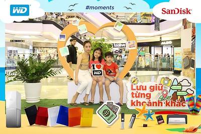 Sandisk | #moments Activation instant print photo booth @ Van Hanh Mall  | Chụp hình lấy liền Sự kiện tại TP. Hồ Chí Minh | Photobooth Saigon