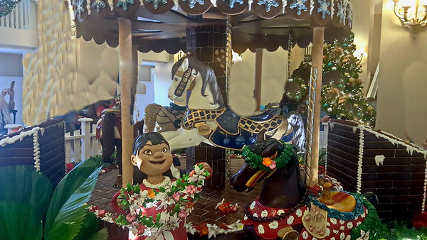 WDW Beach Club Chocolate Carousel
