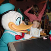 CM - Madison & Donald at Chef Mickey's 11-30-01