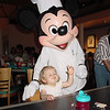 CM - Madison & Chef Mickey at Chef Mickey's 2 11-30-01