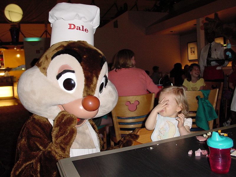 CM - Madison & Dale at Chef Mickey's 2 11-30-01
