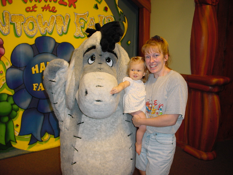 MK - Madison, Cathy & Eeyore 11-30-01
