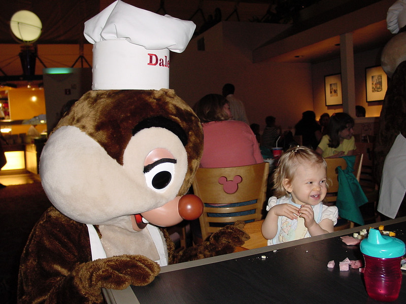 CM - Madison & Dale at Chef Mickey's 3 11-30-01