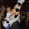 Chef Mickey's - Madison and Goofy 12-2-04