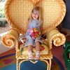 MK - Madison in Minnie's house 2 12-14-05