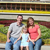 MK - Daddy, Madison and Mommy in front of MK 2 12-14-05