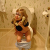 GF - Madison on the toilet phone 12-13-05