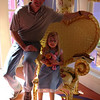 MK - Daddy and Madison in Minnie's house 2 12-14-05