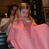 MK - Madison getting haircut 12-10-05