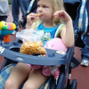 MK - Madison eating whales waiting to get in 2 12-9-05