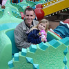 AK - Daddy and Madison on Triceratop Spin 12-10-05
