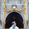 MK - Madison and Daddy in front of castle 3 12-11-05