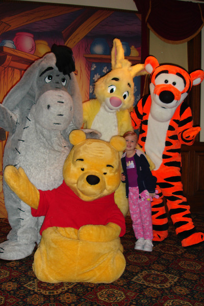 EP - Eeyore, Pooh, Rabbit, Madison and Tigger 12-10-05
