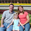 MK - Daddy, Madison and Mommy in front of MK 12-14-05