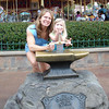 MK - Mommy and Madison trying to remove Sword in the Stone 2 12-9-05