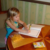 GF - Madison working on her vacation journal for school 2 12-9-05