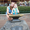 MK - Mommy and Madison trying to remove Sword in the Stone 3 12-9-05
