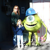 MGM - Mommy, Madison and Mike Wazowski 12-13-05