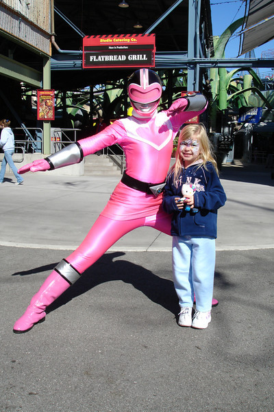 MGM - Pink Ranger and Madison 12-13-05