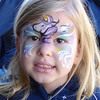 MGM - Madison with a unicorn face paint 3 12-13-05