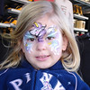 MGM - Madison with a unicorn face paint 2 12-13-05
