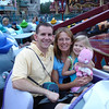 MK - Daddy, Mommy, and Madison on Dumbo 12-9-05
