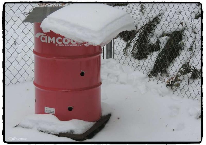 Burn Barrel Snow
