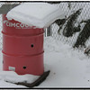 Burn Barrel Snow