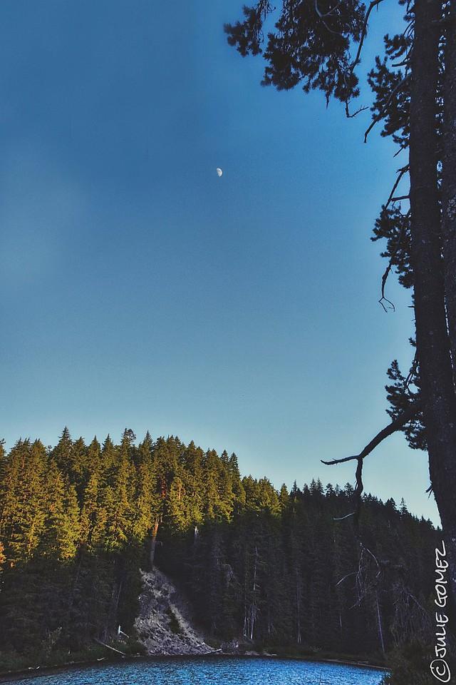 Lakeside Moonrise