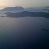 San Teodoro, tavolara, from meridiana flight to Roma